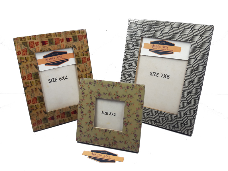 Wooden Colored Photo Frame